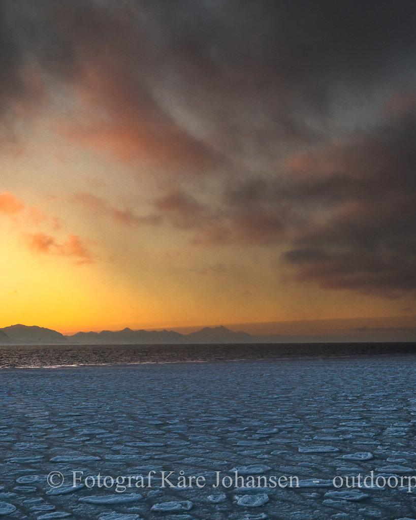 Soloppgang i Forlandssundet